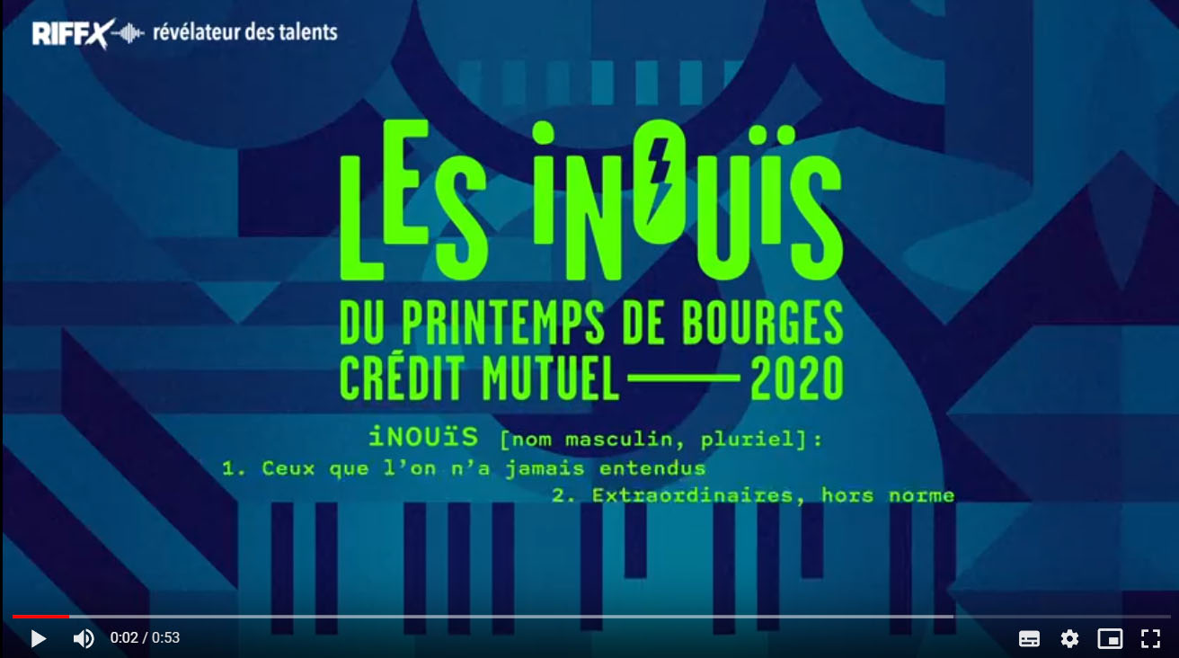 LA SÉLECTION DES iNOUïS 2020 EST LÀ !